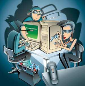 hackers cartoon